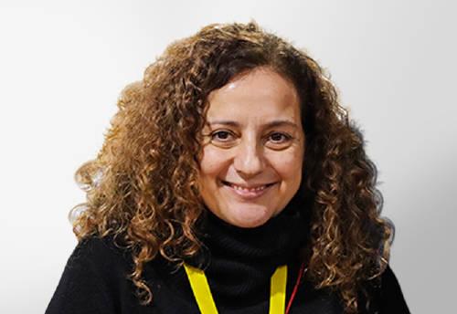 En la imagen, María Alves, nuestra protagonista hoy en el Blog del Grupo MASMOVIL, especialista Senior en Tecnología de Acceso del Grupo MASMOVIL.