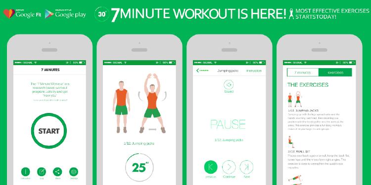 mejor app de 2015 | tabla de 7 minutos