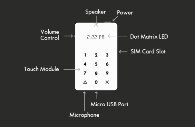 especificaciones lightphone