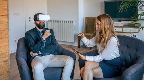 aplicación VR
