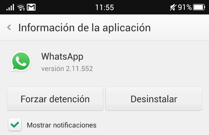 Cómo limpiar la memoria caché de Whatsapp | En android