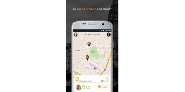 app cabify | empresa de coches con conductor