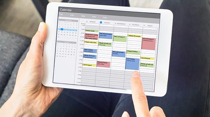 Mejores apps para organizar tu agenda