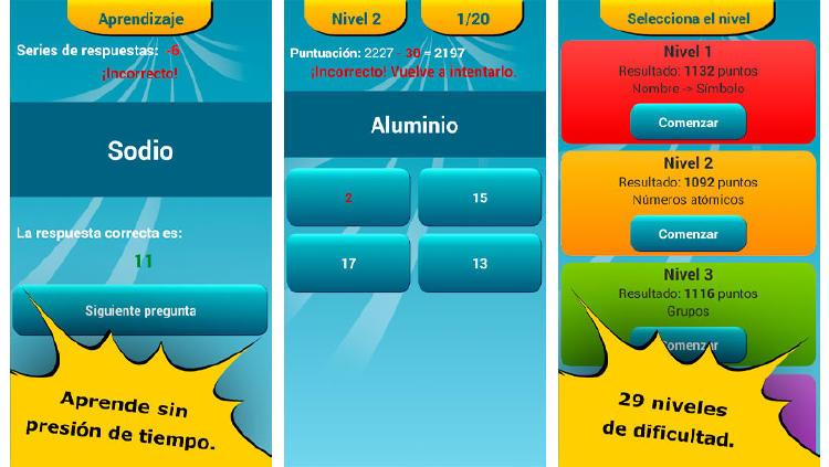 elementos quimicos app