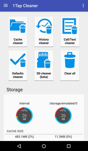 ¿Cuáles son las mejores apps para limpiar tu móvil? | tap cleaner