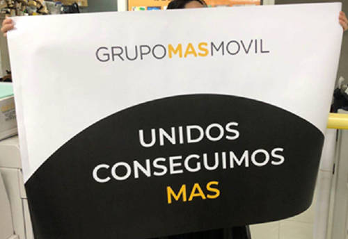 Grupo MASMOVIL donación Undos conseguimos MAS