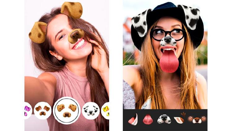 app filtros caras animales