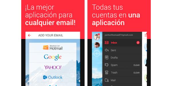 Los cinco mejores gestores de email - Myemail