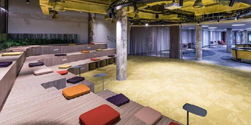 Sala Agora, nueva sede de Grupo MASMOVIL
