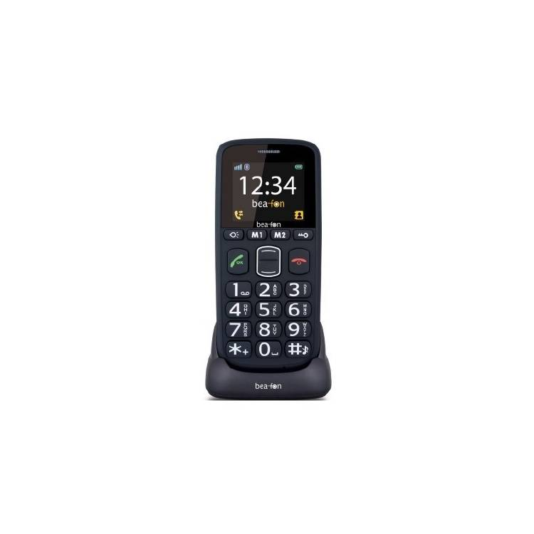 móvil con teclas grandes | Beafon S40 negro