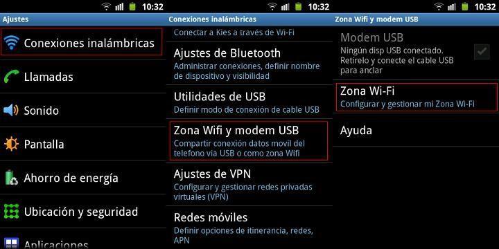 Cómo utilizar un móvil como router | android