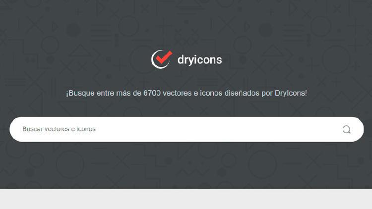 vectores online en drycons