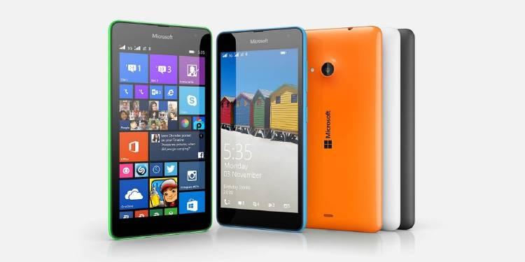 smartphone sencillo | Microsoft Lumia 535