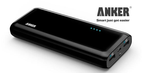mejor batería externa móvil  anker