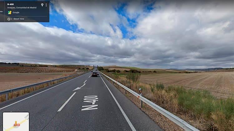 trayecto google maps