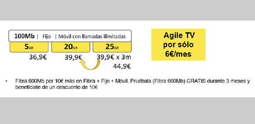 100MB AGILE TV másmovil