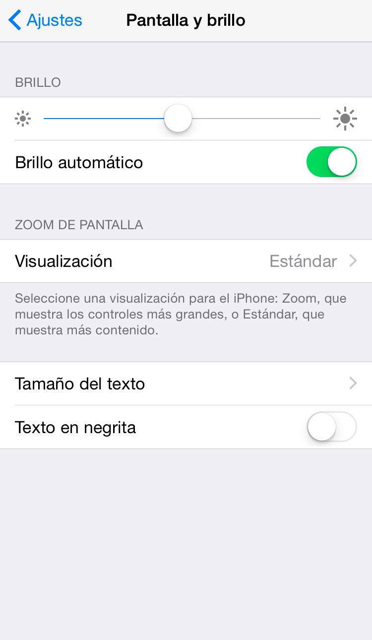 Ahorra batería en tu iPhone con estos consejos | Ajustes de pantalla y brillo
