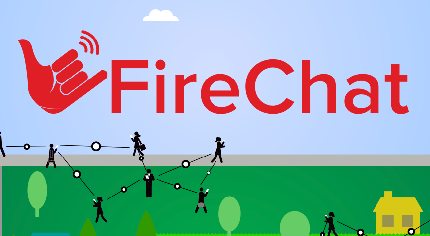 FireChat captura