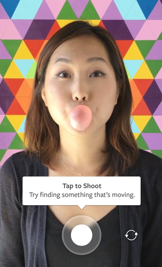 como hacer gifs en Instagram con Boomerang