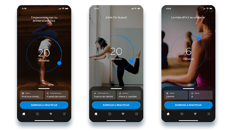 yoga apps movil