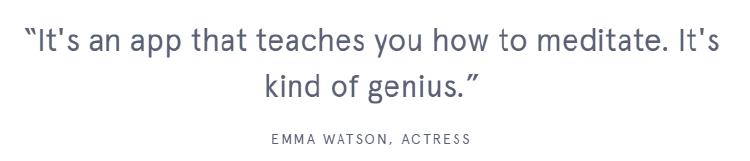 Captura quote Emma Watson
