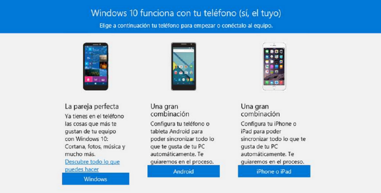 Tutorial para sincronizar Android con Windows 10