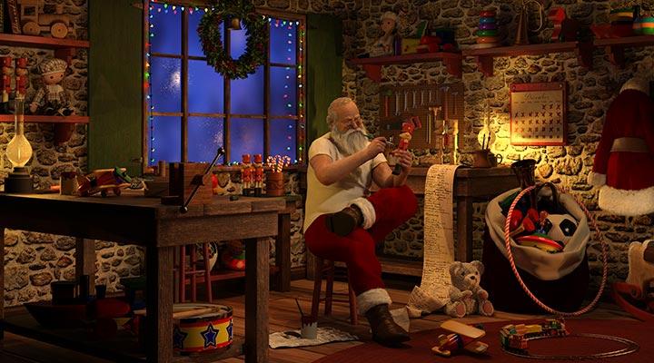 """Papá Noel, un """"empresario"""" a seguir"""