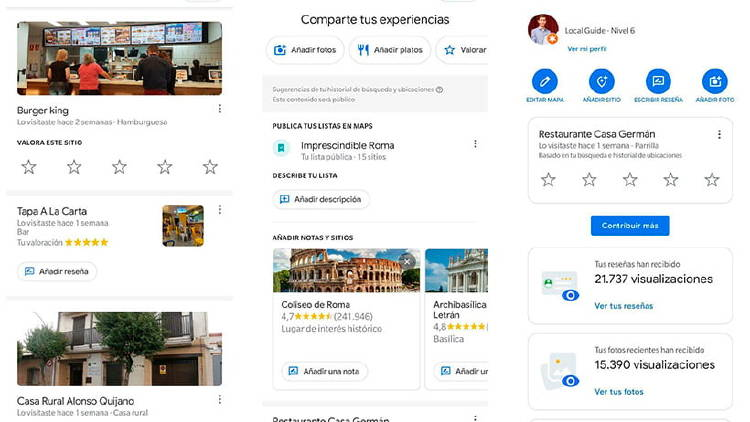 Google Local Guides, una red social de viajeros en Google Maps