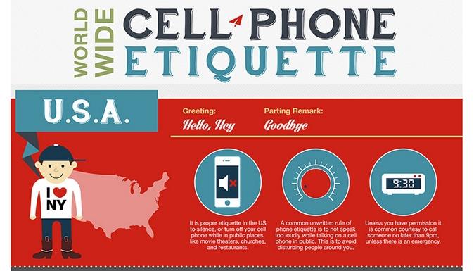 Etiqueta al hablar por teléfono en los diversos países