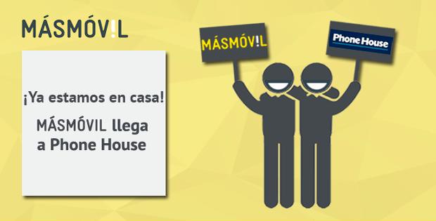 Contrata ya MÁSMÓVIL en Phone House