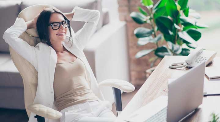 La importancia de sentarse bien en el trabajo
