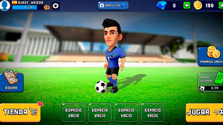 juego movil futbol