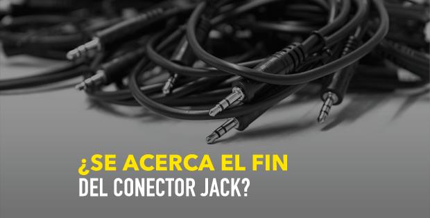 ¿Se acerca el fin del conector Jack?