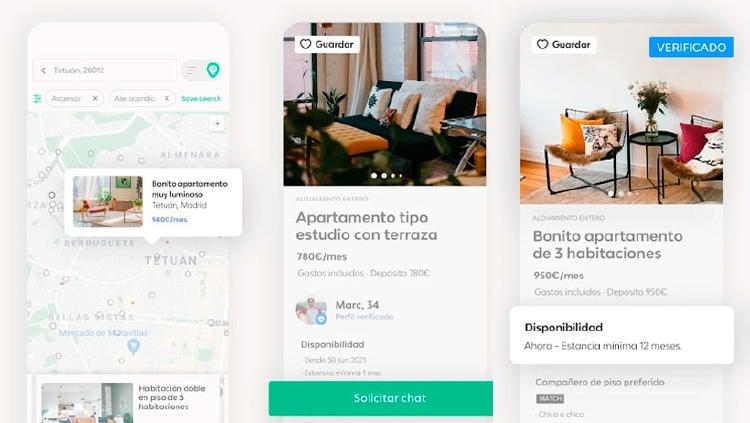 badi app compartir piso