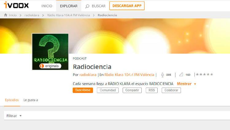 podcast ciencia Radiociencia