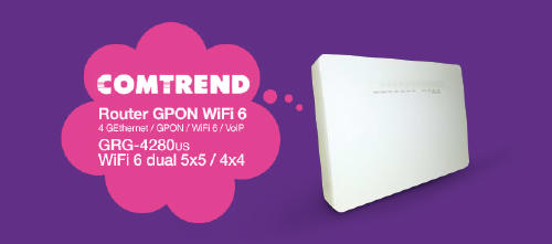 Router Wifi 6