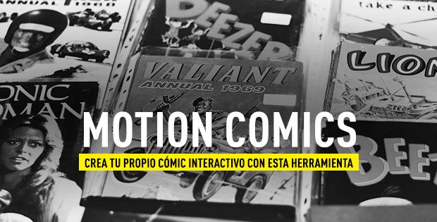 Motion comic