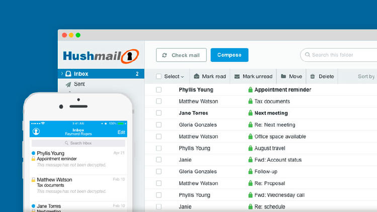 Hushmail alternativa gmail
