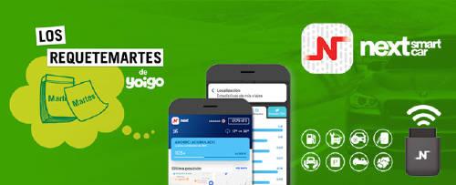 Otro Requetemartes de Yoigo que va a hacer historia. Regalamos 10.000 dispositivos Next Smart Car con una tarjeta SIM que incluye 3GB de datos.