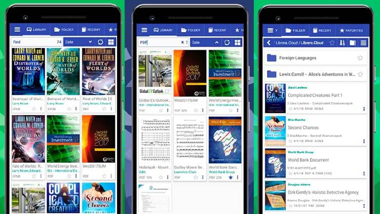 Apps gratis para leer ebooks desde tu smartphone Android