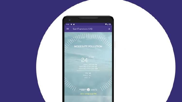 Conoce los niveles de contaminación desde tu móvil con estas apps