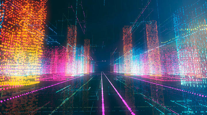 Daniel Canogar arte Big Data