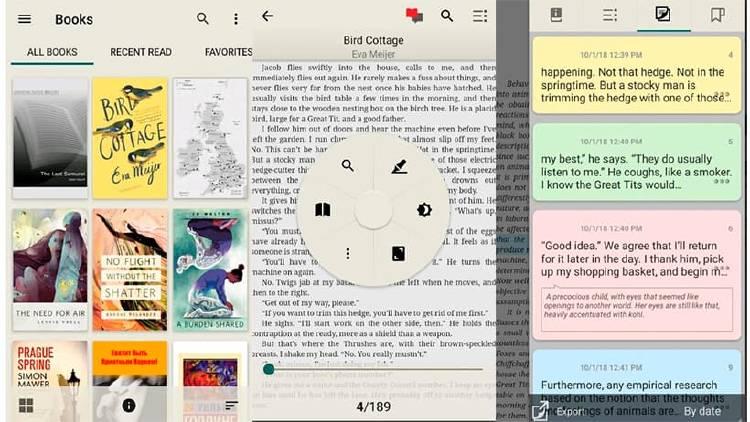 Los mejores lectores de libros electrónicos para tu móvil