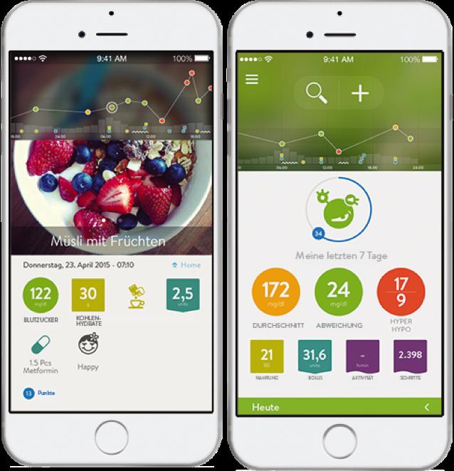 app diabetes   Logbook