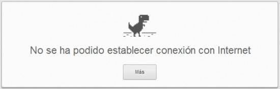 Truco Google Chrome | Dinosaurio Google