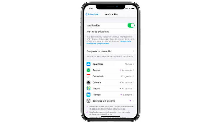 problemas ubicacion iphone