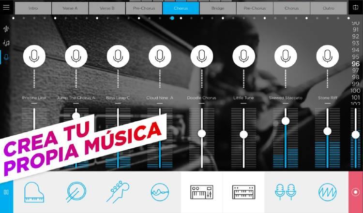 crear música dj smartphone