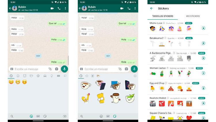 instalar stickers WhatsApp