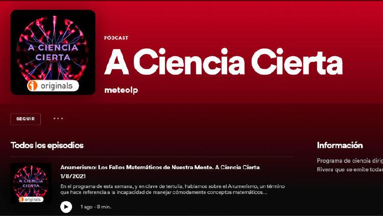 podcast ciencia