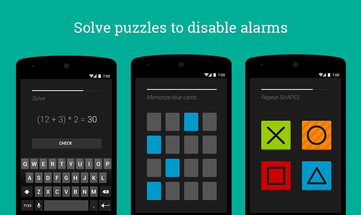 Los despertadores para smartphone más efectivos | puzzle